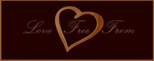 lovefreefrom logo all golden