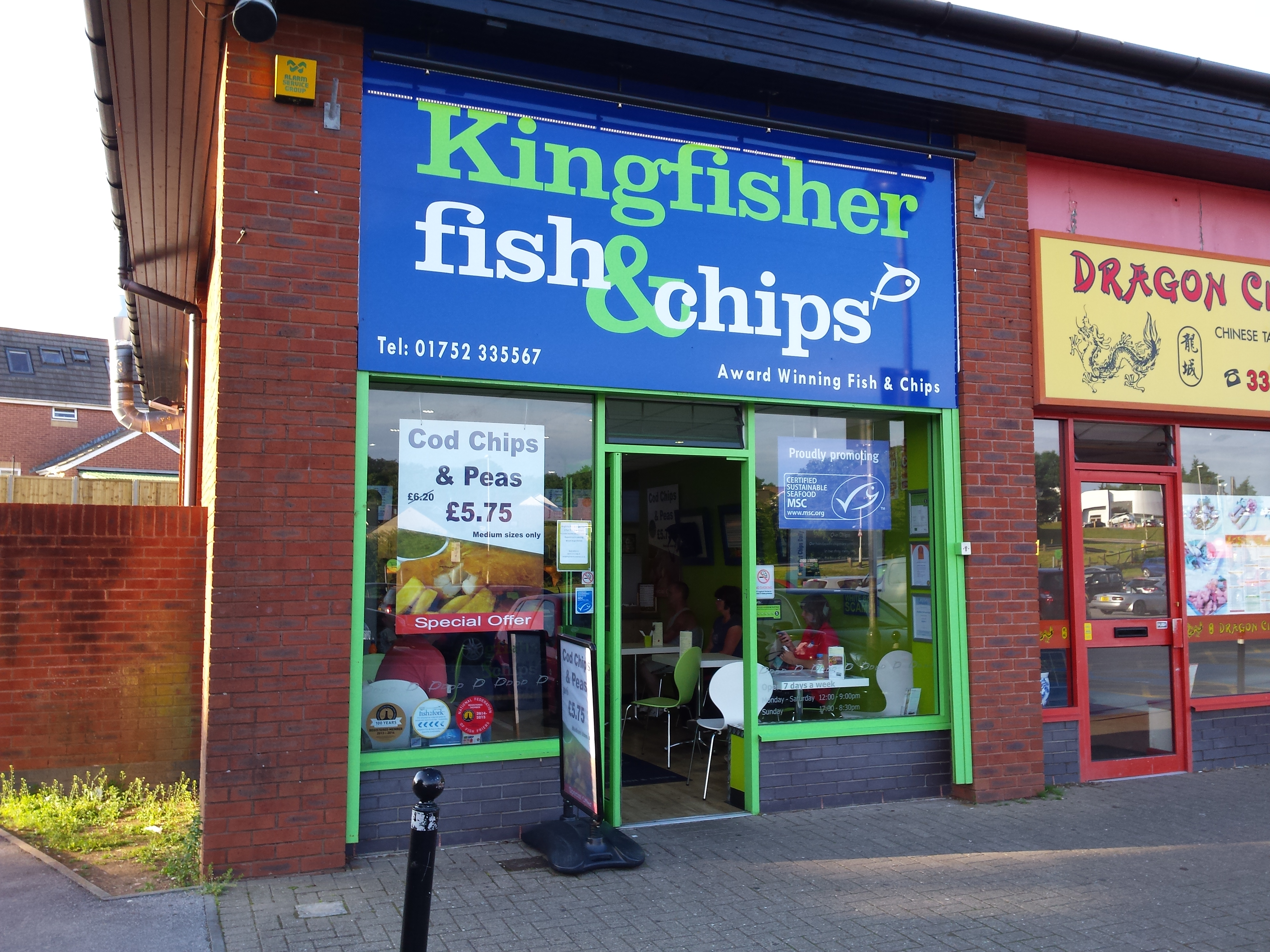 New Fish And Chip Restaurant Plymouth