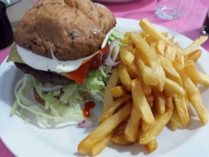 Burger from Holland's Diner